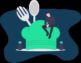 icon restaurateur